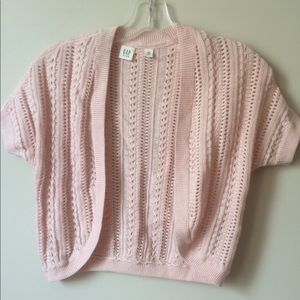 Girls crochet cardigan